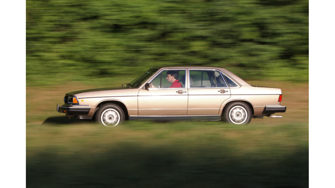 Audi 5000S, Seitenansicht
