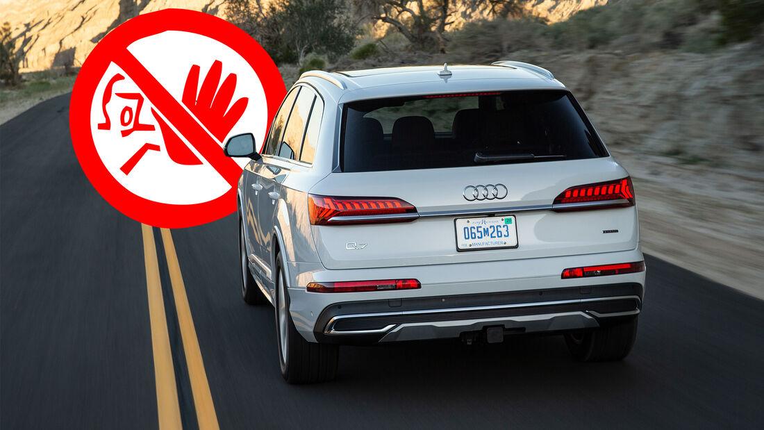 Audi 7 USA Rückruf 2020