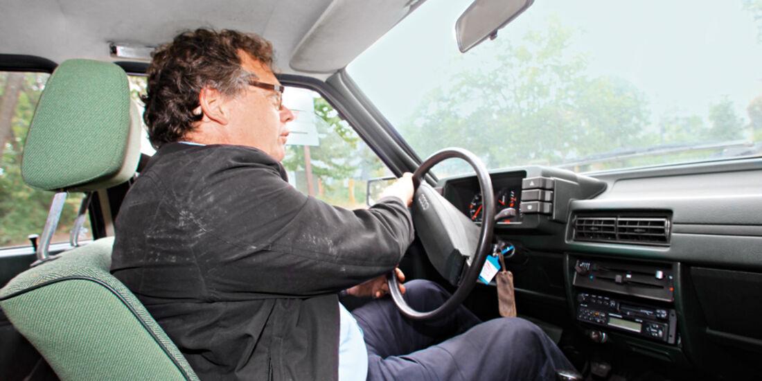 Audi 80, Cockpit, Alf Cremers