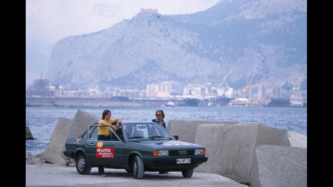 Audi 80 Diesel, Palermo