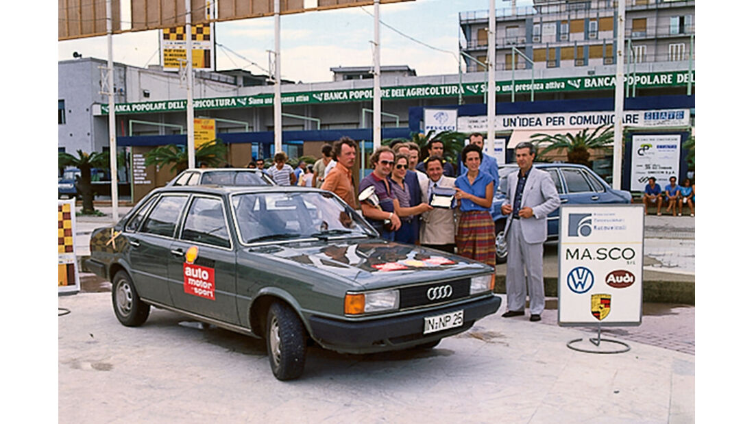 Audi 80 Diesel, Publikum, Messe