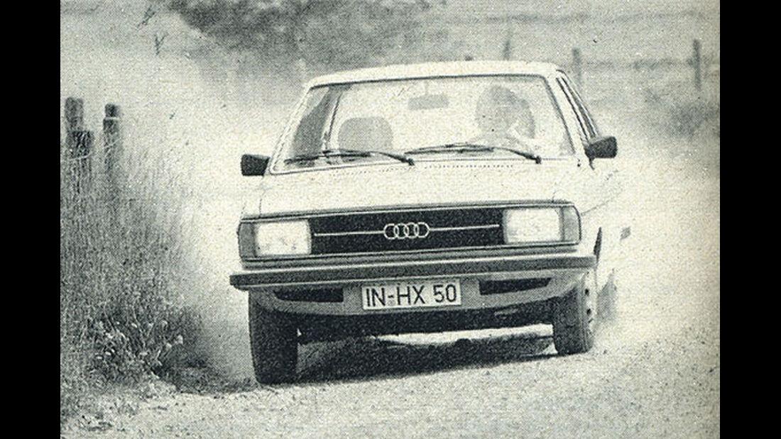 Audi, 80, IAA 1977