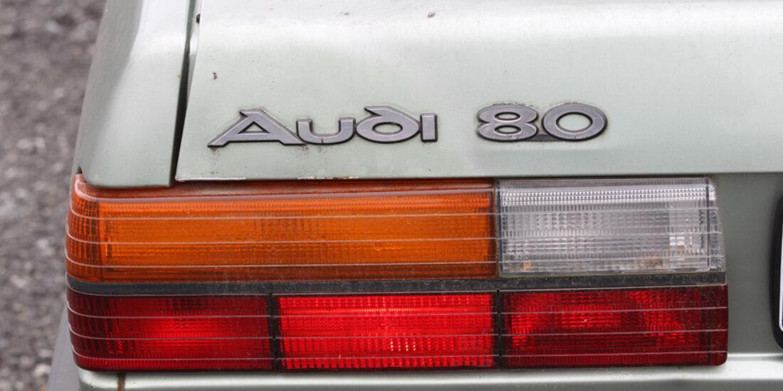 Audi 80, Rücklichter
