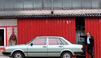 Audi 80, Seitenansicht