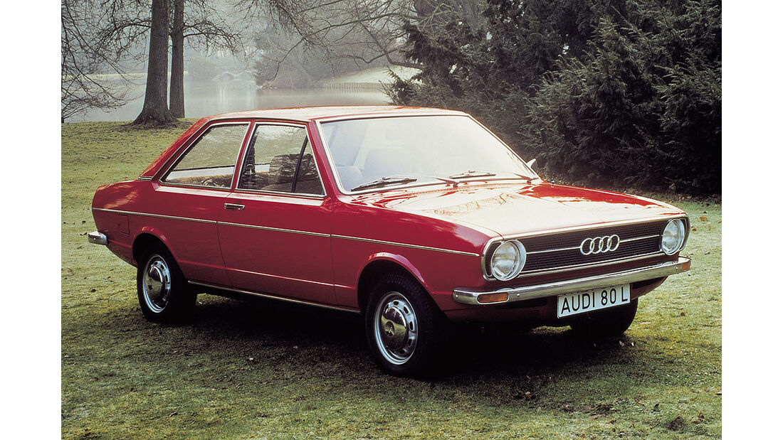 Audi 80 von 1973.