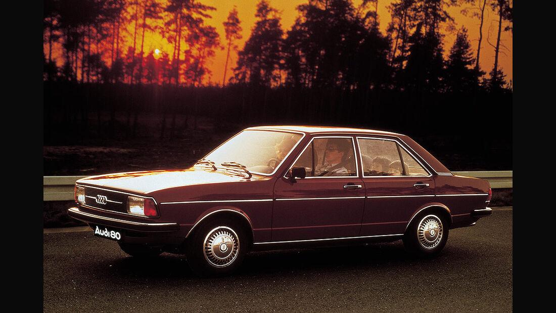 Audi 80 von 1977.
