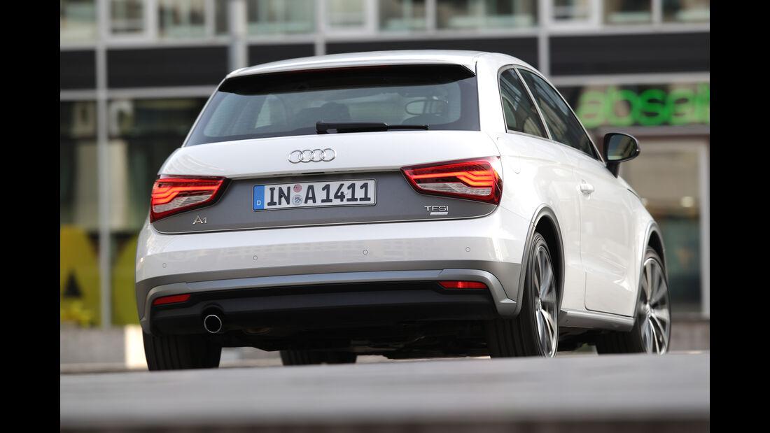 Audi A1 1.0 TFSI, Heckansicht