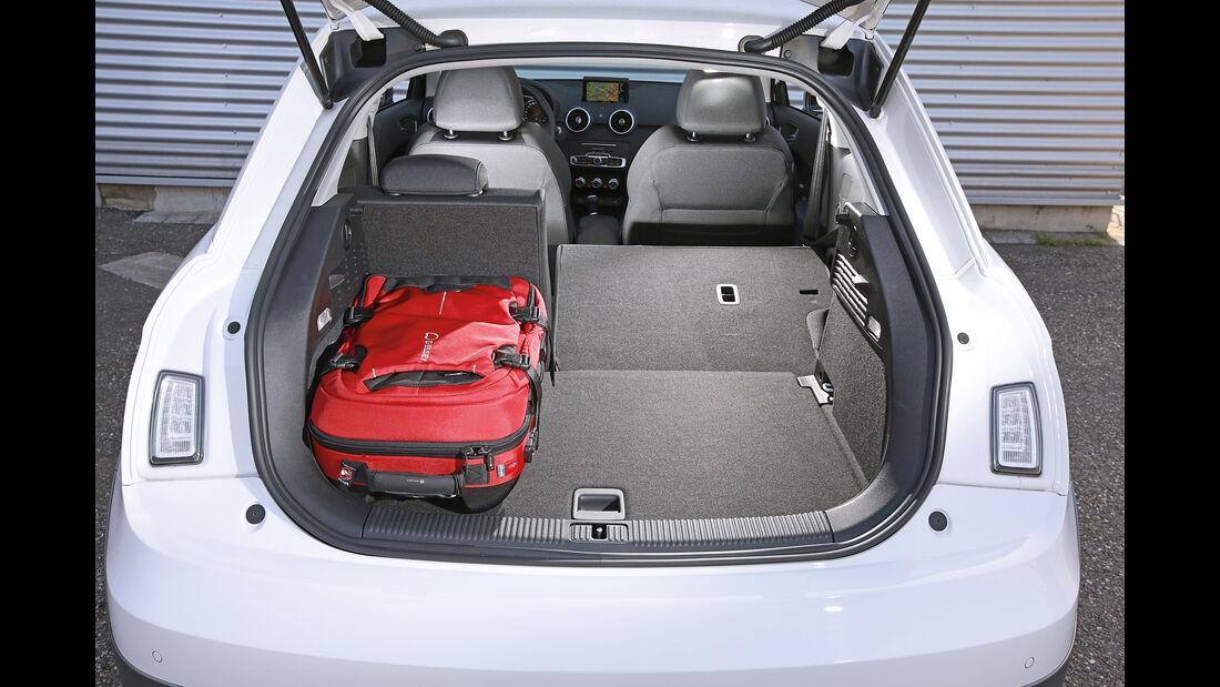 Audi A1 1.0 TFSI, Kofferraum