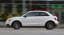 Audi A1 1.0 TFSI, Seitenansicht