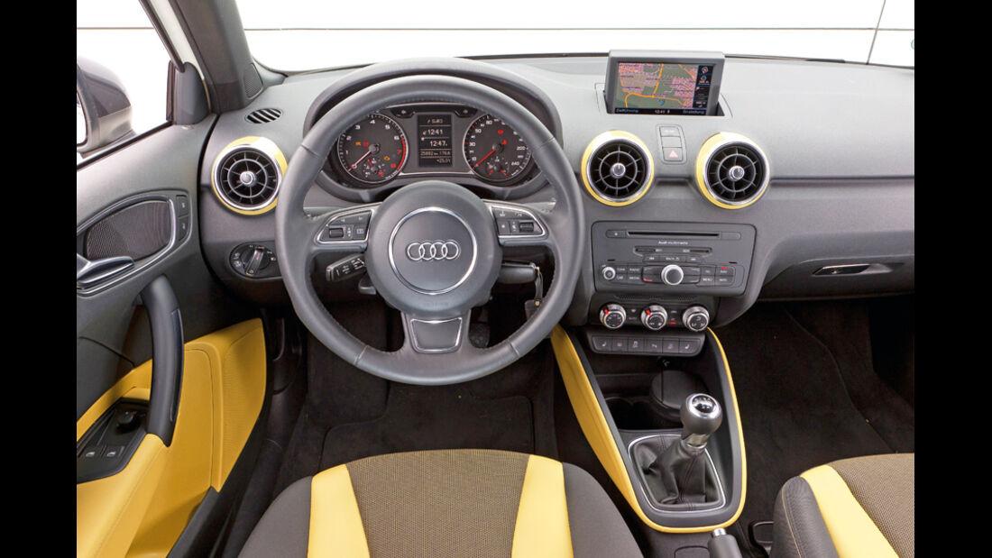 Audi A1 1.2 TFSI, Cockpit, Lenkrad