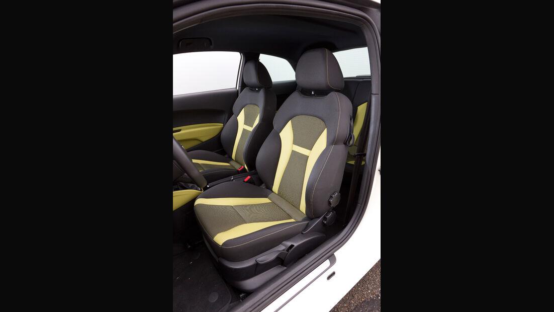 Audi A1 1.2 TFSI, Fahrersitz