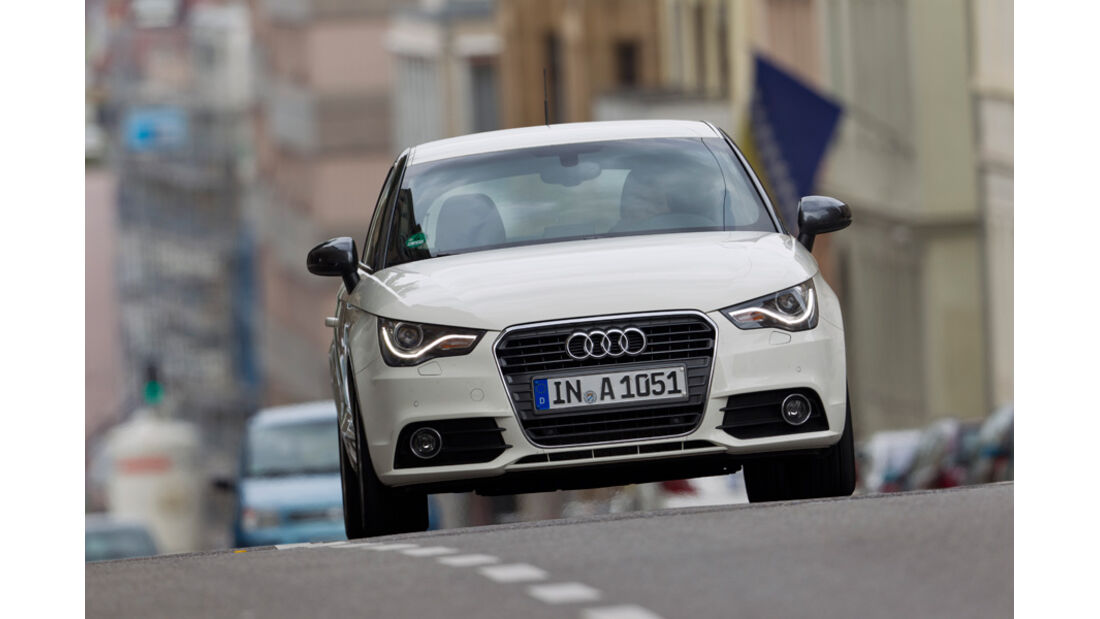 Audi A1 1.2 TFSI, Frontansicht