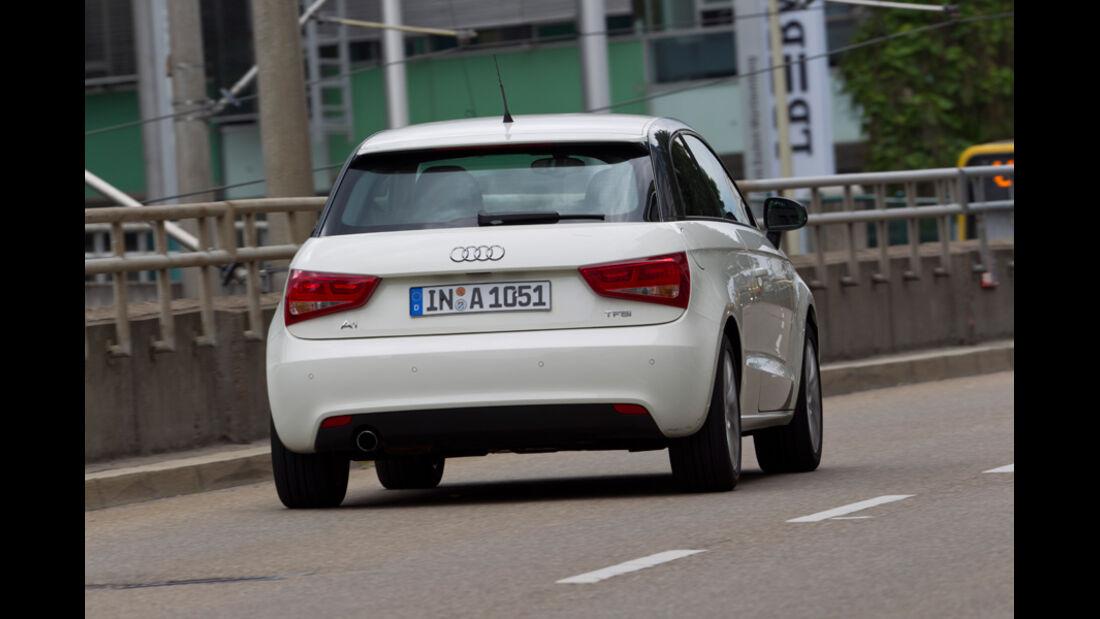 Audi A1 1.2 TFSI, Heck, Rückansicht