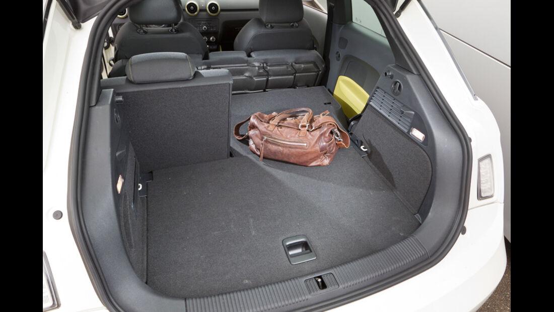Audi A1 1.2 TFSI, Kofferraum, Laderaum