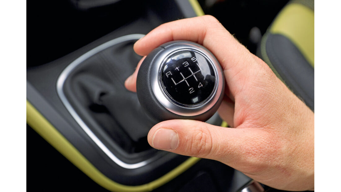 Audi A1 1.2 TFSI, Schaltknauf, Schalthebel