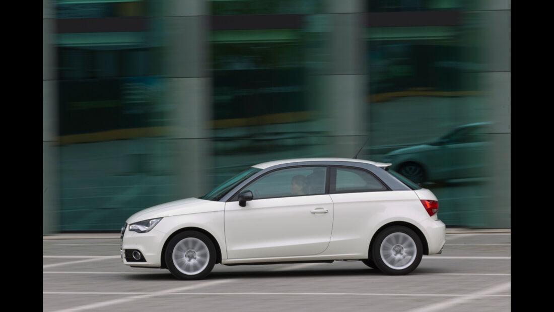 Audi A1 1.2 TFSI, Seitenansicht