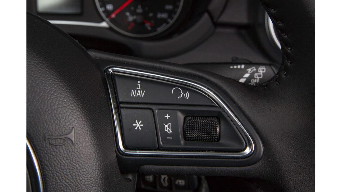 Audi A1 1.2 TSI, Bedienelemente