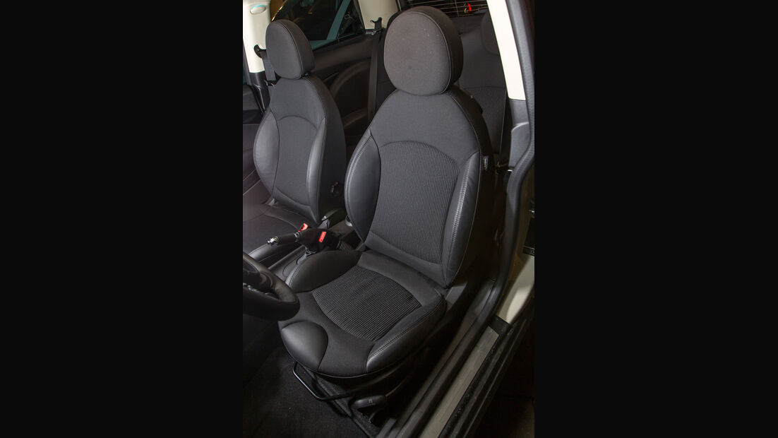 Audi A1 1.2 TSI, Fahrersitz