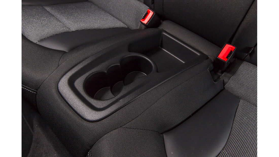 Audi A1 1.2 TSI, Getränkehalter