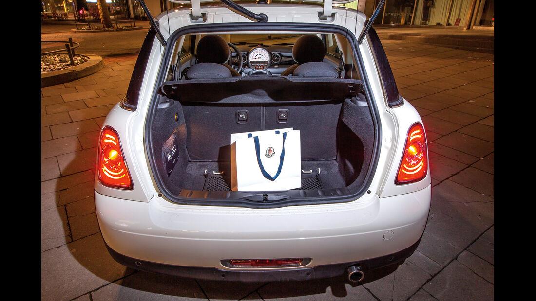 Audi A1 1.2 TSI, Kofferraum