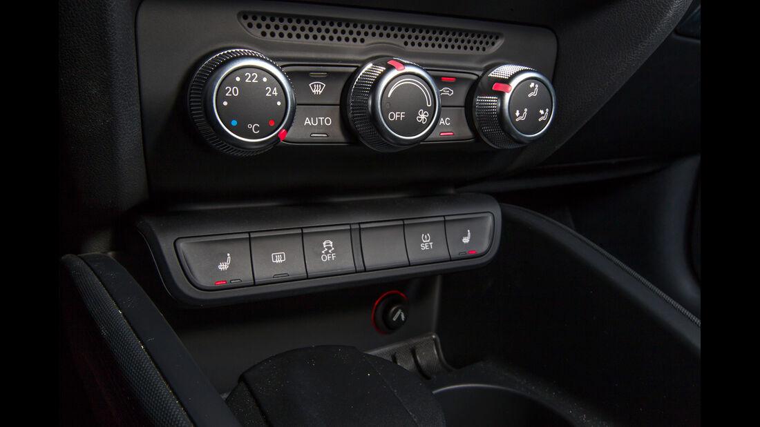 Audi A1 1.2 TSI, Mittelkonsole