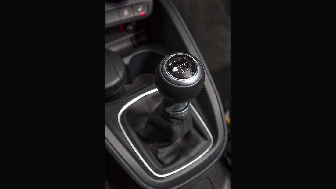 Audi A1 1.2 TSI, Schalthebel, Schaltknauf