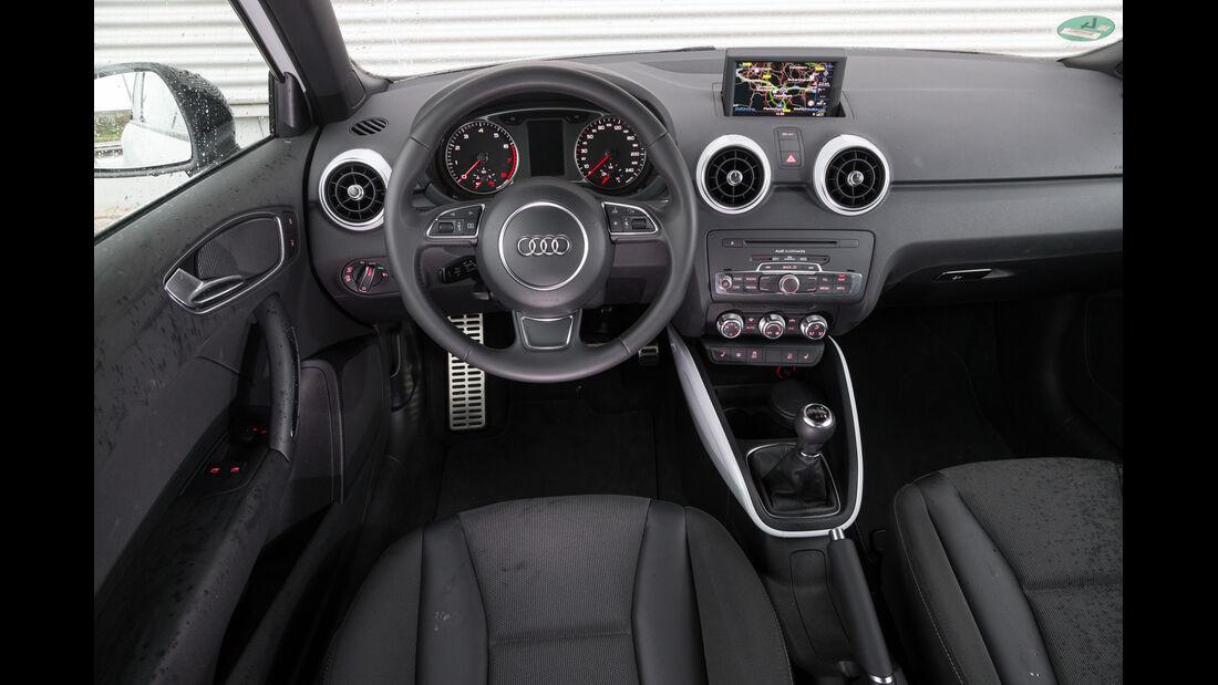 Audi A1 1.4 TFSI, Cockpit