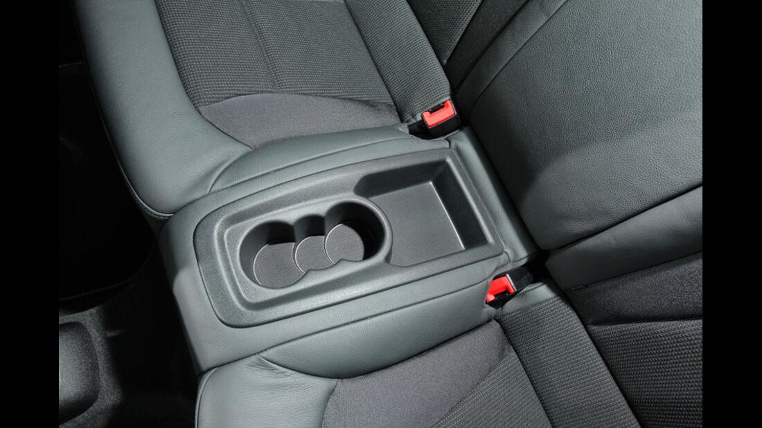 Audi A1 1.4 TFSI, Getränkehalter