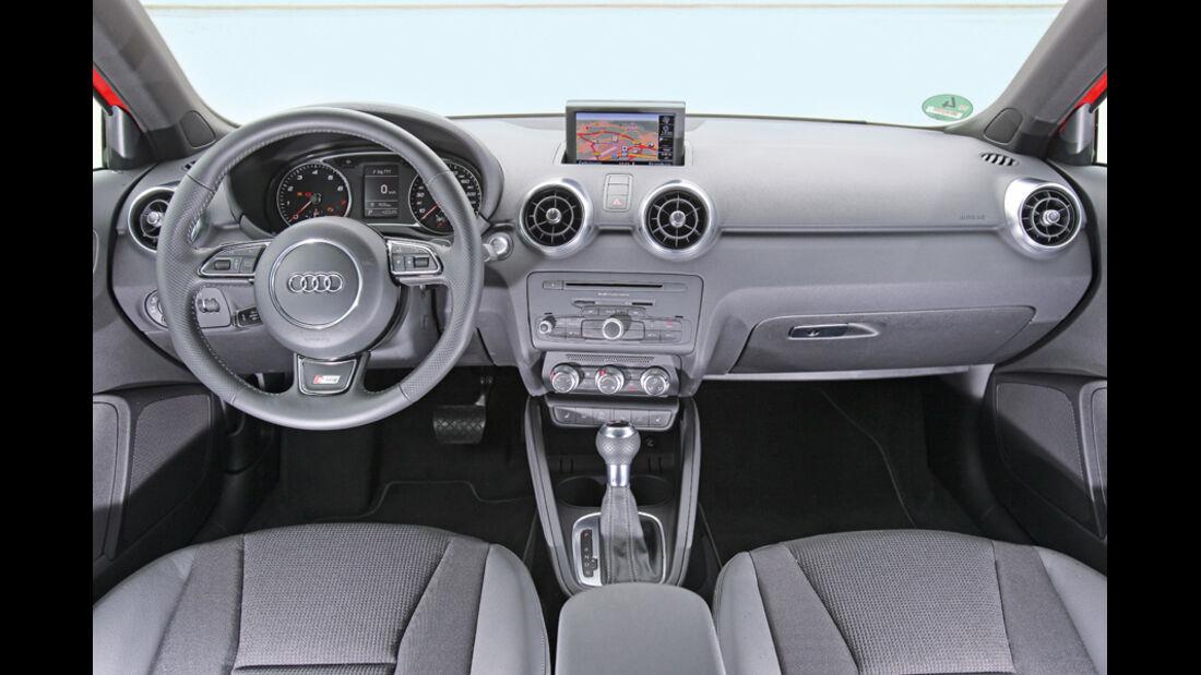 Audi A1 1.4 TFSI, Innenraum