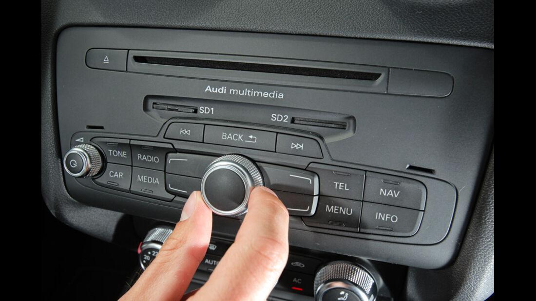 Audi A1 1.4 TFSI, Knopf