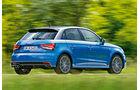 Audi A1 1.4 TFSI, Seitenansicht