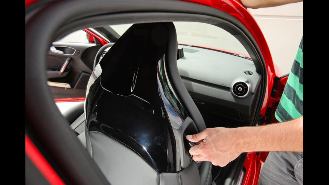 Audi A1 1.4 TFSI, Sitz