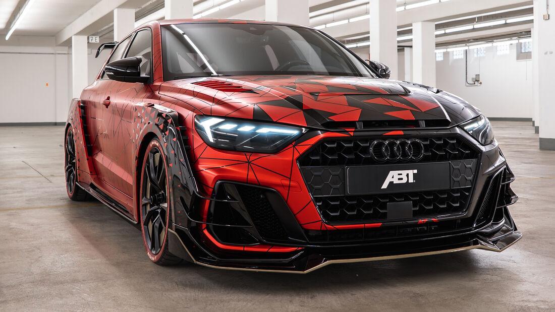 Audi A1, Abt, Exterieur