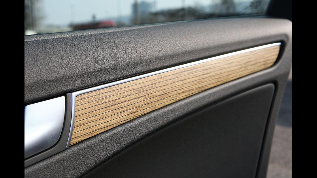 Audi A1, Audi A4, Holzdekor