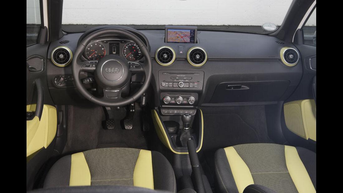 Audi A1, Ausstattung Ambition