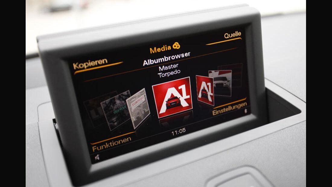 Audi A1 Bildschirm