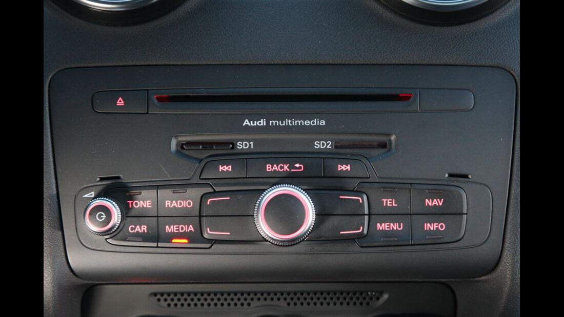 Audi A1, CD-Radio