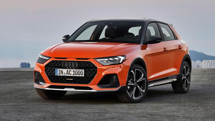 Audi A1 Citycarver Crossoverlook Fur Den Kleinwagen Auto Motor