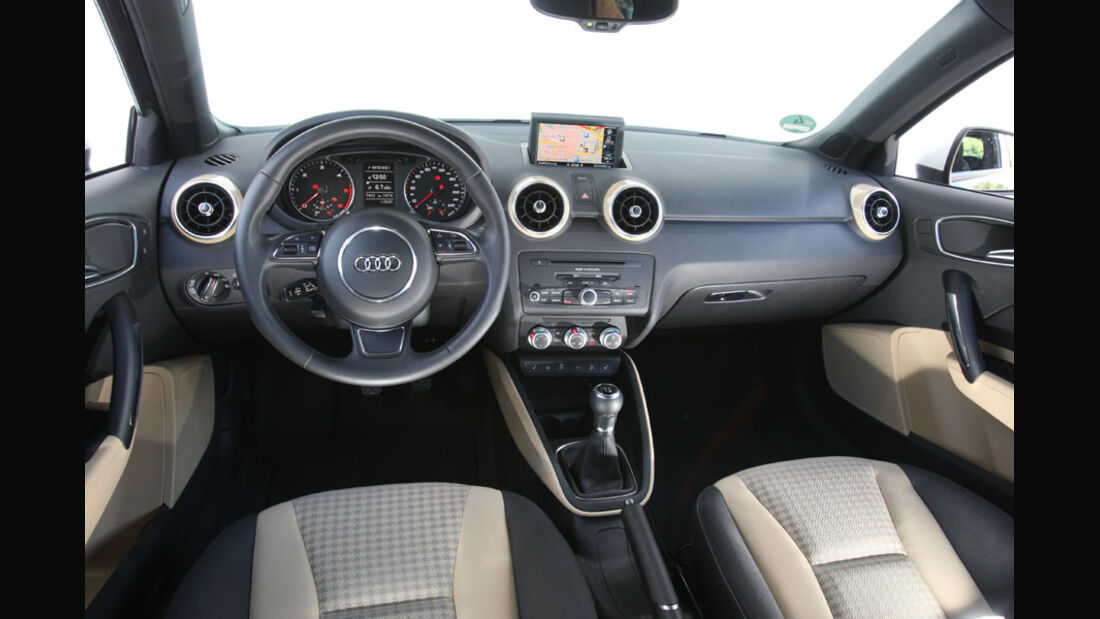 Audi A1, Cockpit, Innenraum