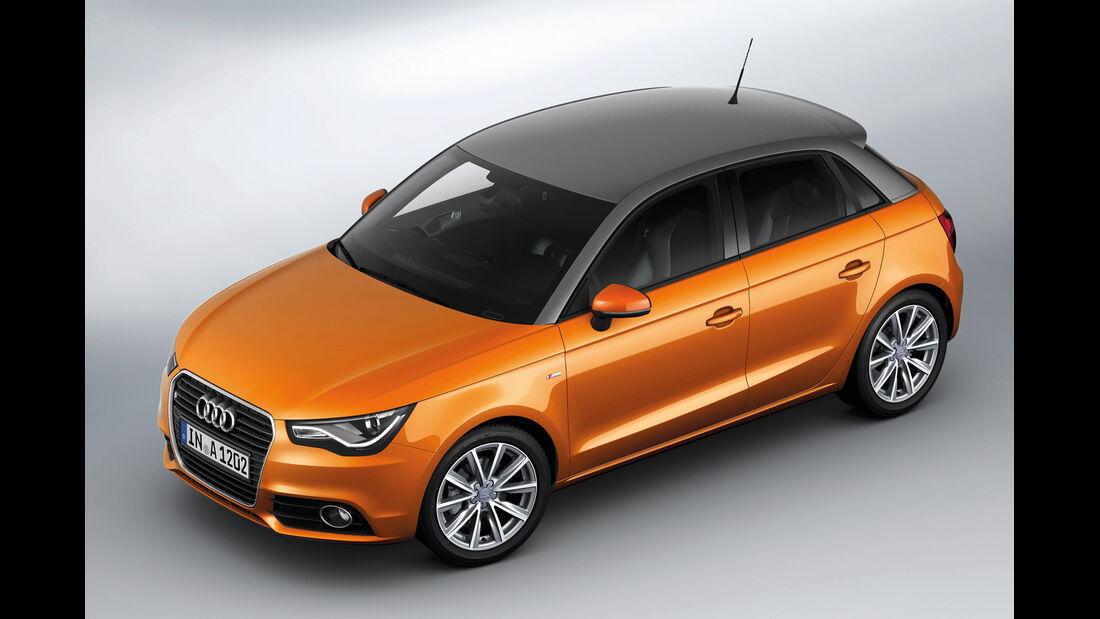 Audi A1, Draufsicht