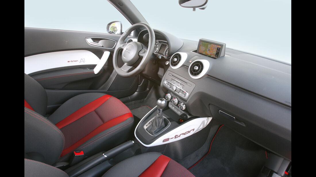 Audi A1 E-Tron, Cockpit
