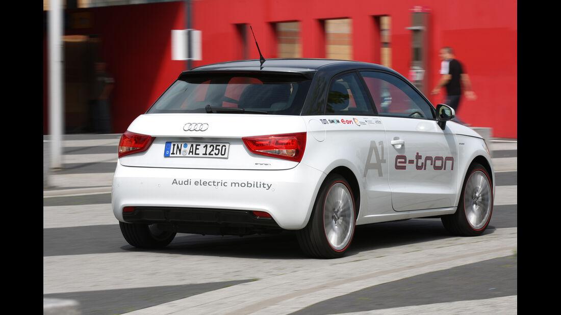 Audi A1 E-Tron, Heckansicht