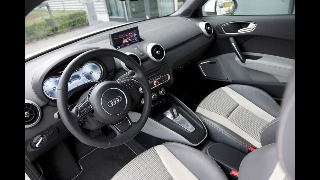 Audi A1 E-Tron, Innenraum, Cockpit
