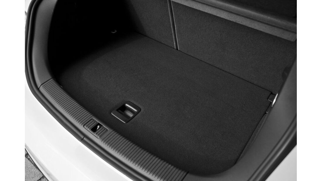 Audi A1 E-Tron, Kofferraum