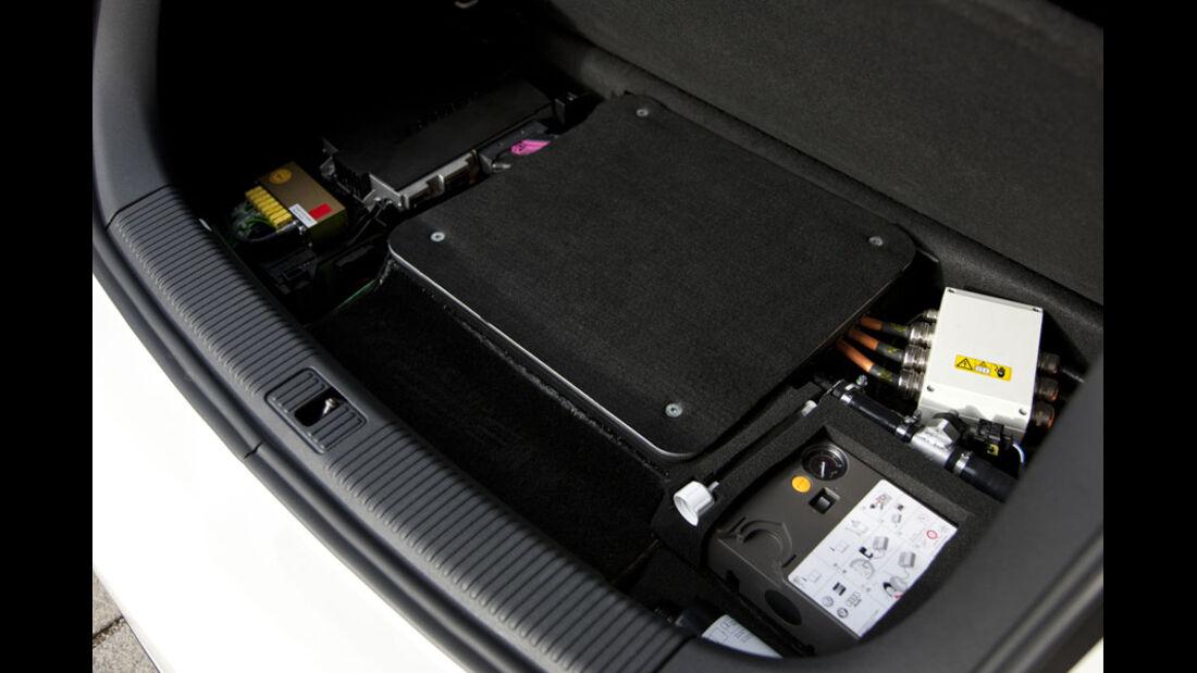 Audi A1 E-Tron, Kofferraum, Wankelmotor