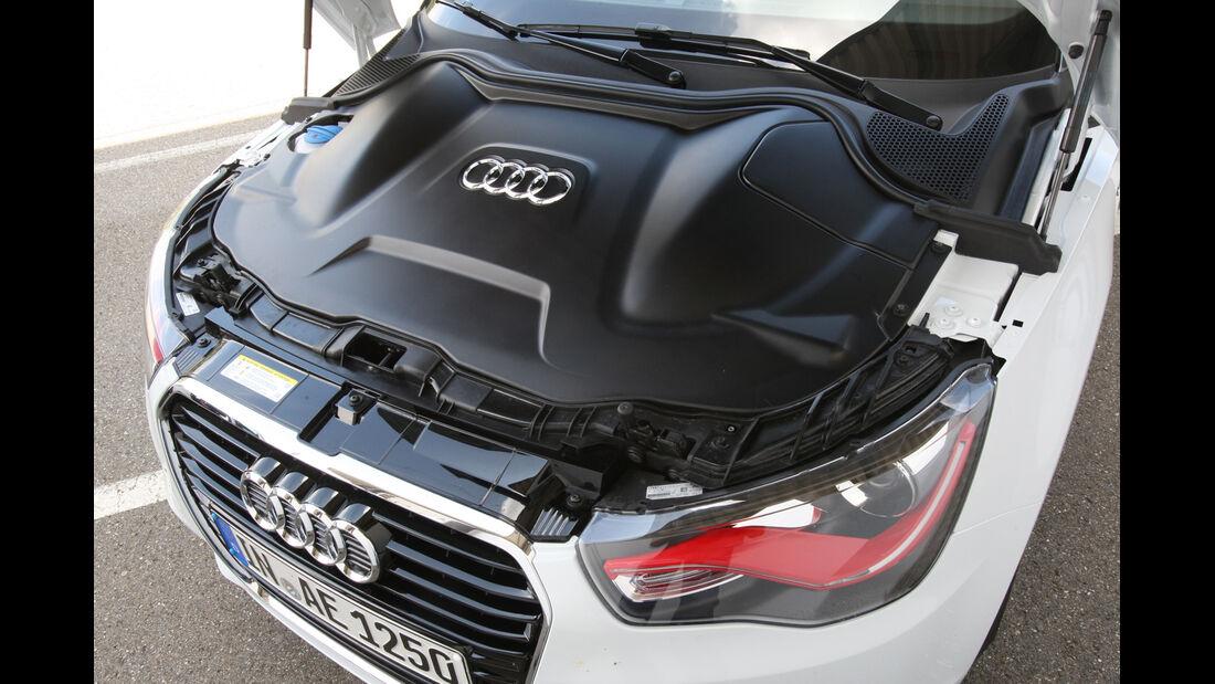 Audi A1 E-Tron, Motorverkleidung