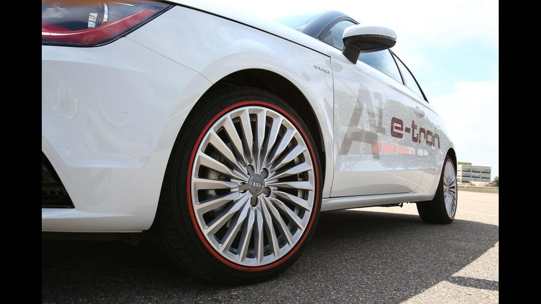 Audi A1 E-Tron, Rad, Felge