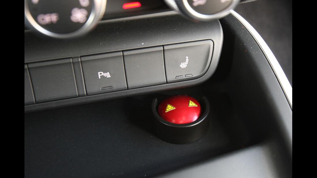 Audi A1 E-Tron, Roter Knopf