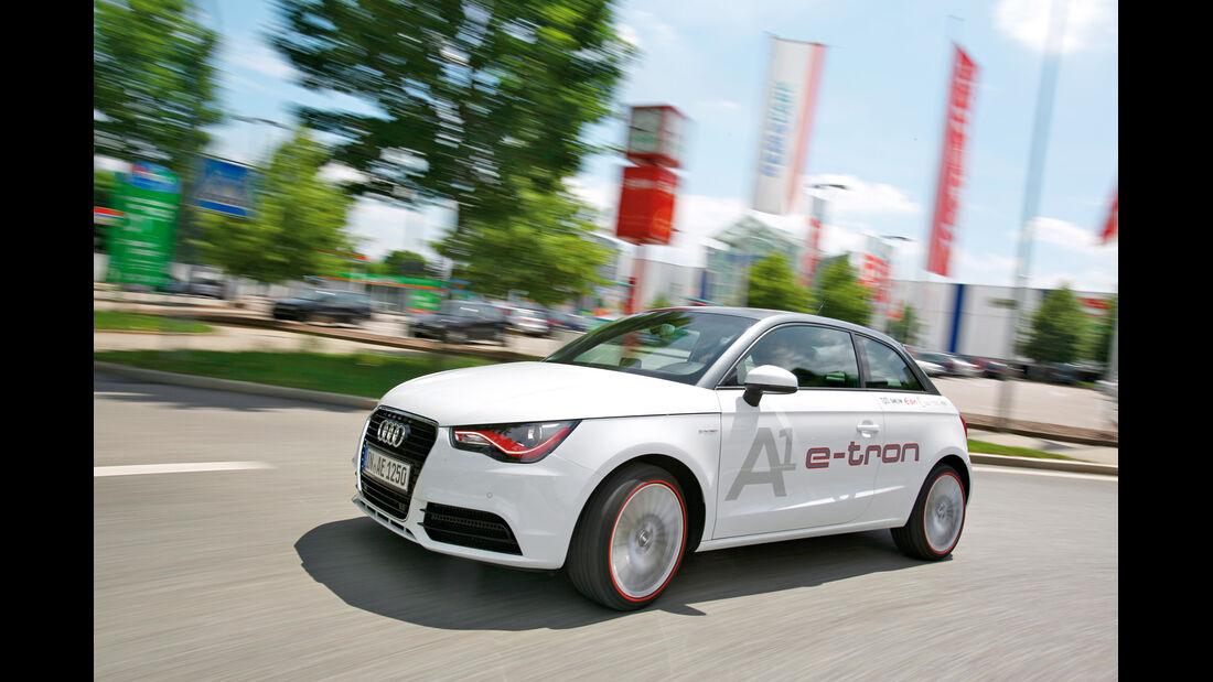 Audi A1 E-Tron, Seitenansicht