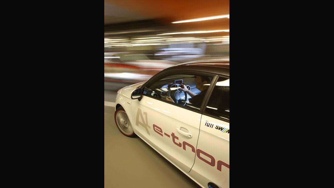 Audi A1 E-Tron, Seitenführung